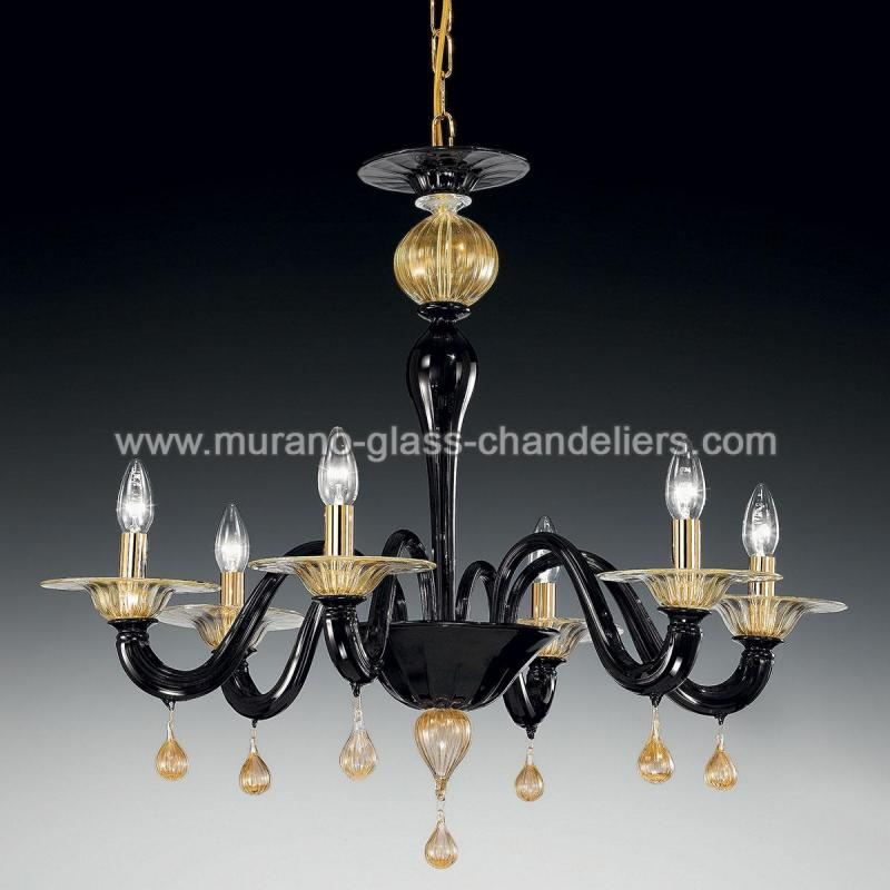 cabiri lustre en cristal de murano murano glass. Black Bedroom Furniture Sets. Home Design Ideas
