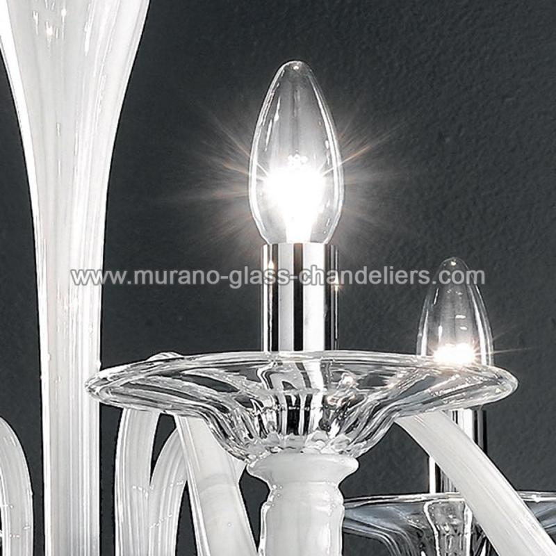 cabiri lustre en cristal de murano murano glass chandeliers. Black Bedroom Furniture Sets. Home Design Ideas