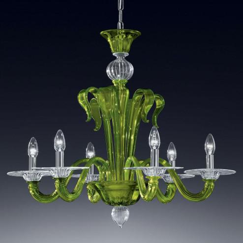"""Etere"" lustre en cristal de Murano"