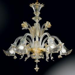 """Gaia"" Murano glass chandelier"