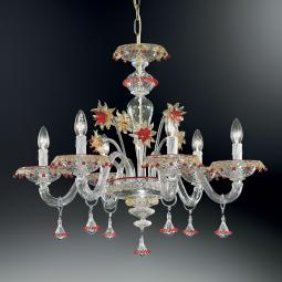 """Florenza"" Murano glass chandelier"