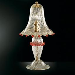 """Rosalba"" Murano glass bedside lamp"