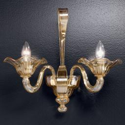"""Perpetua"" Murano glass sconce"