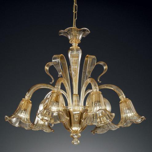"""""""Cristoforo"""" lampara de araña de Murano"""