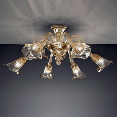 """""""Agnese"""" lampara de araña de Murano"""