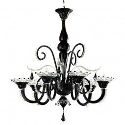 """Regata"" Murano glass chandelier"