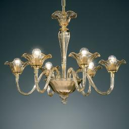 """Capuleto"" Murano glass chandelier"