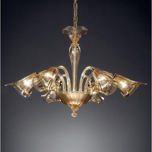 """""""Corinne"""" lampara de araña de Murano"""
