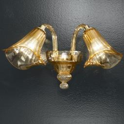 """Corinne"" Murano glass sconce"