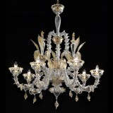 """Orazio"" Murano glass chandelier"