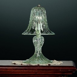 Rialto 1 light Murano small table lamp transparent color