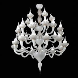 """Vulcano"" Murano glass chandelier"