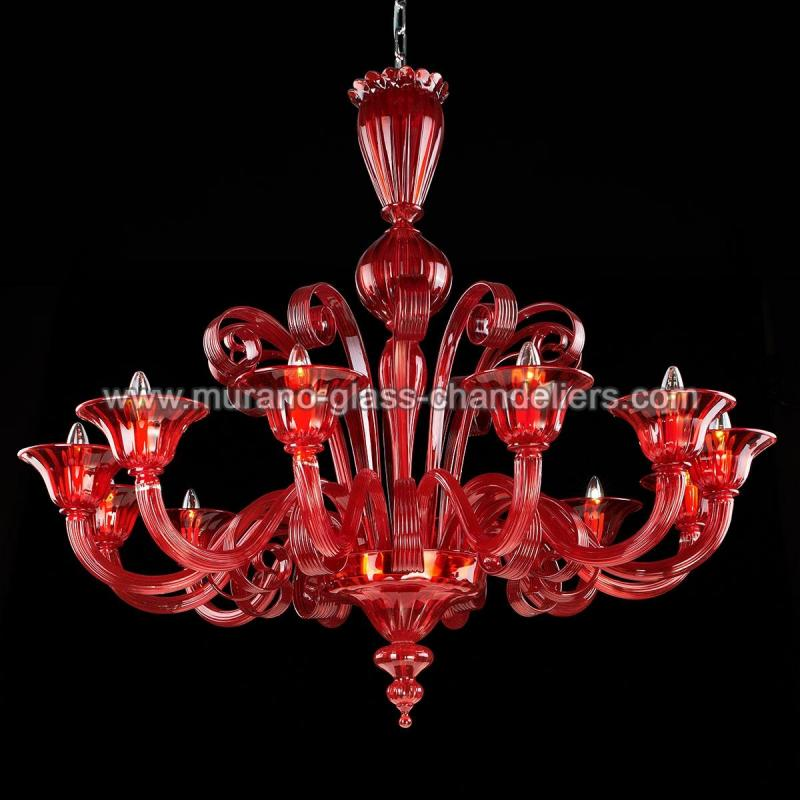 morgana lustre en cristal de murano murano glass chandeliers. Black Bedroom Furniture Sets. Home Design Ideas