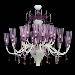 """Lullaby"" Murano glass chandelier"