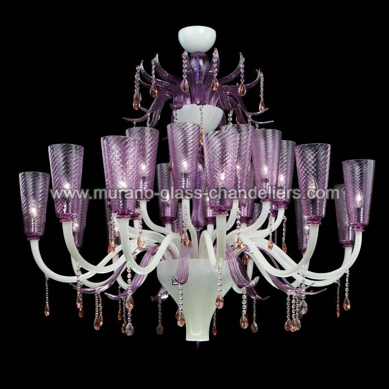lullaby lustre en cristal de murano murano glass chandeliers. Black Bedroom Furniture Sets. Home Design Ideas