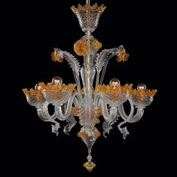 """Norma"" Murano glass chandelier"