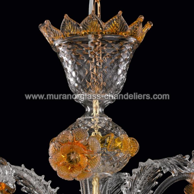 norma lustre en cristal de murano murano glass chandeliers. Black Bedroom Furniture Sets. Home Design Ideas