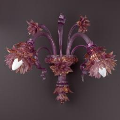 """Ginestra"" Murano glass sconce"