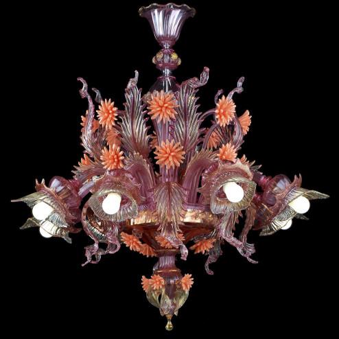 """""""Bucaneve"""" Murano glass chandelier"""