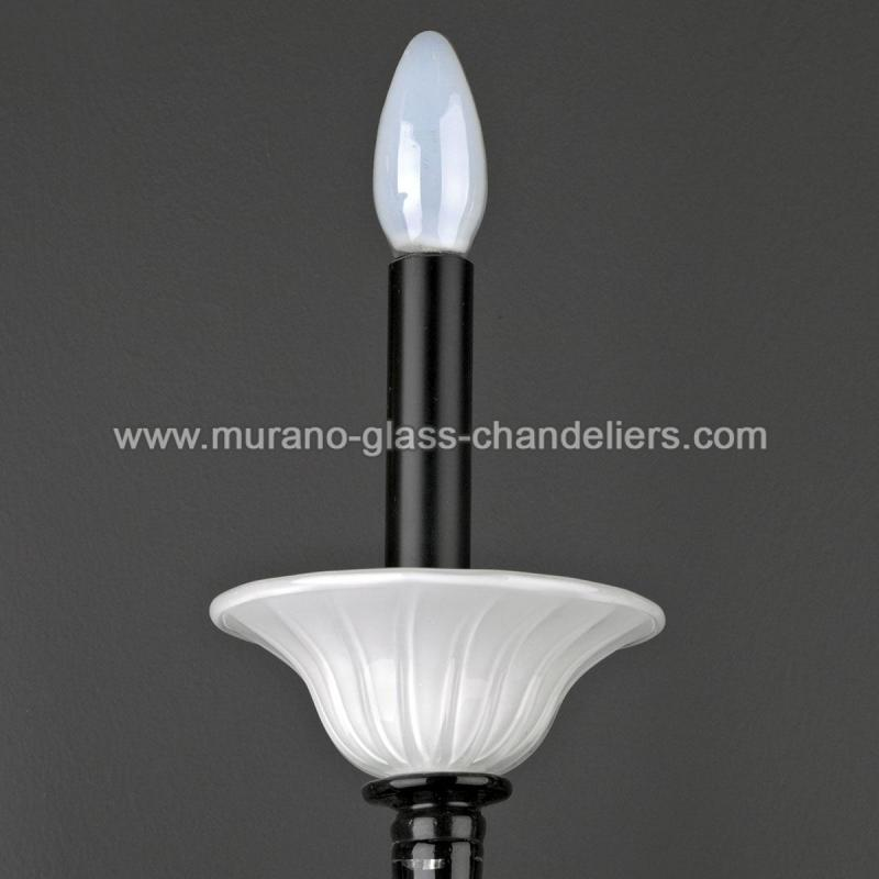 agape murano glas wandleuchte murano glass chandeliers. Black Bedroom Furniture Sets. Home Design Ideas