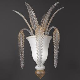"""Meti"" Murano glass sconce"