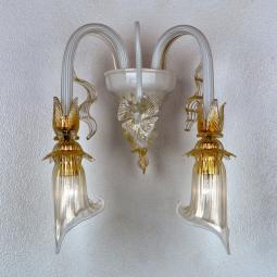"""Lete"" Murano glass sconce"