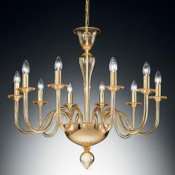 """Melania"" Murano glass chandelier"