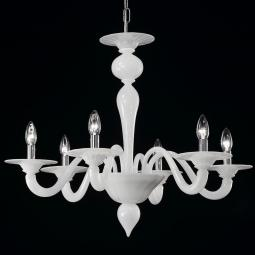 """Serana"" Murano glass chandelier"