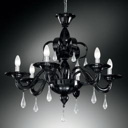 """Olivia"" Murano glass chandelier"