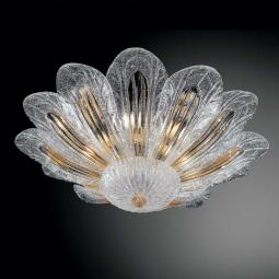 """Talita"" Murano glass ceiling light"
