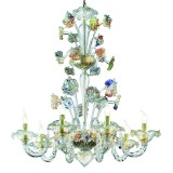"""Tiepolo"" Murano glass chandelier"