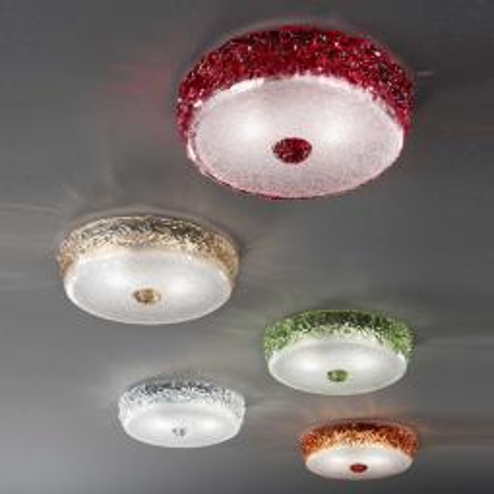 """Aria"" lampara de techo de Murano"