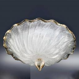 """Conchiglia"" Murano glass ceiling light"