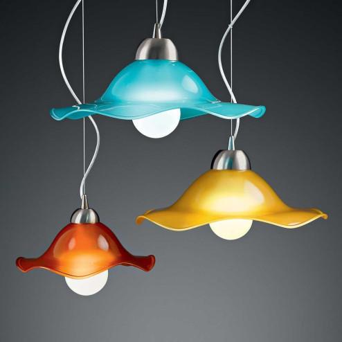 """Mariluna"" Murano glass pendant light"