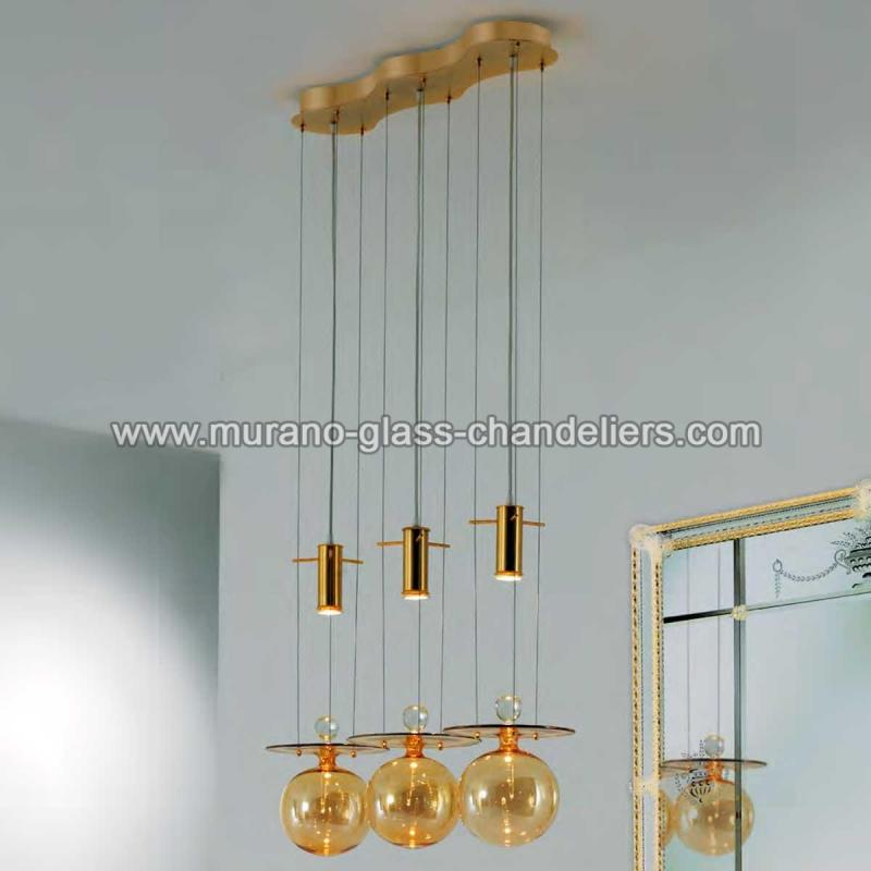 Pendulum Murano Glass Pendant Light