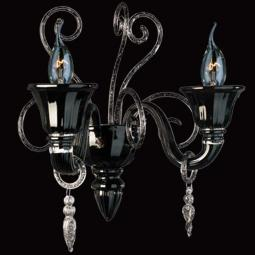 """Nito"" Murano glass sconce"