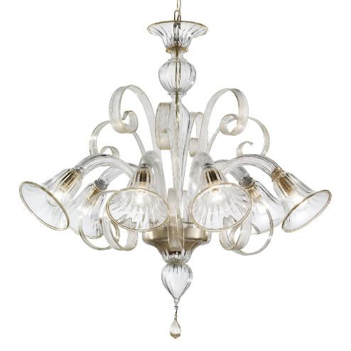 """""""Venezia"""" lampara de araña de Murano"""