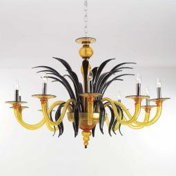 """Darsena"" Murano glass chandelier"