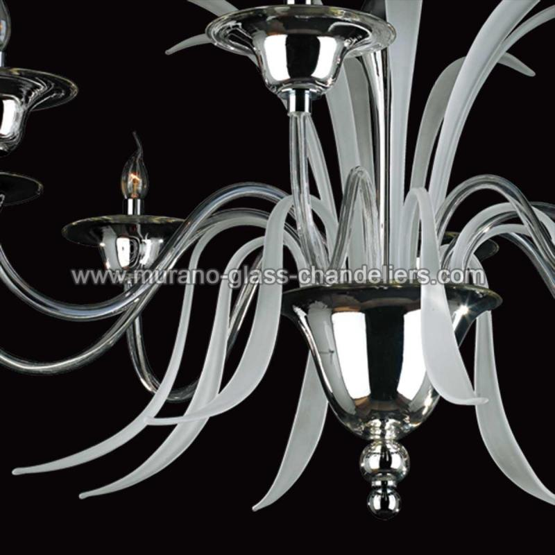 euripide lustre en cristal de murano murano glass chandeliers. Black Bedroom Furniture Sets. Home Design Ideas