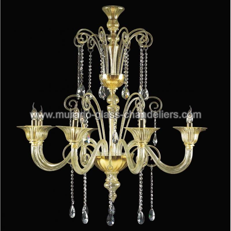 pericle lustre en cristal de murano murano glass chandeliers. Black Bedroom Furniture Sets. Home Design Ideas