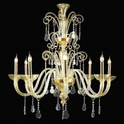 """Callia"" Murano glass chandelier"