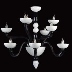 """Didone"" Murano glass chandelier"