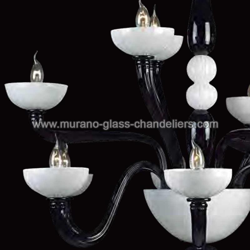 didone murano glas kronleuchter murano glass chandeliers. Black Bedroom Furniture Sets. Home Design Ideas