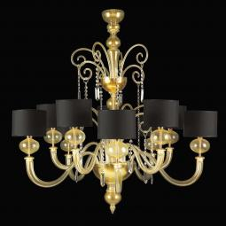 """Matilde"" Murano glass chandelier"