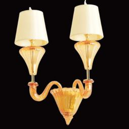 """Meridiana"" Murano glass sconce"