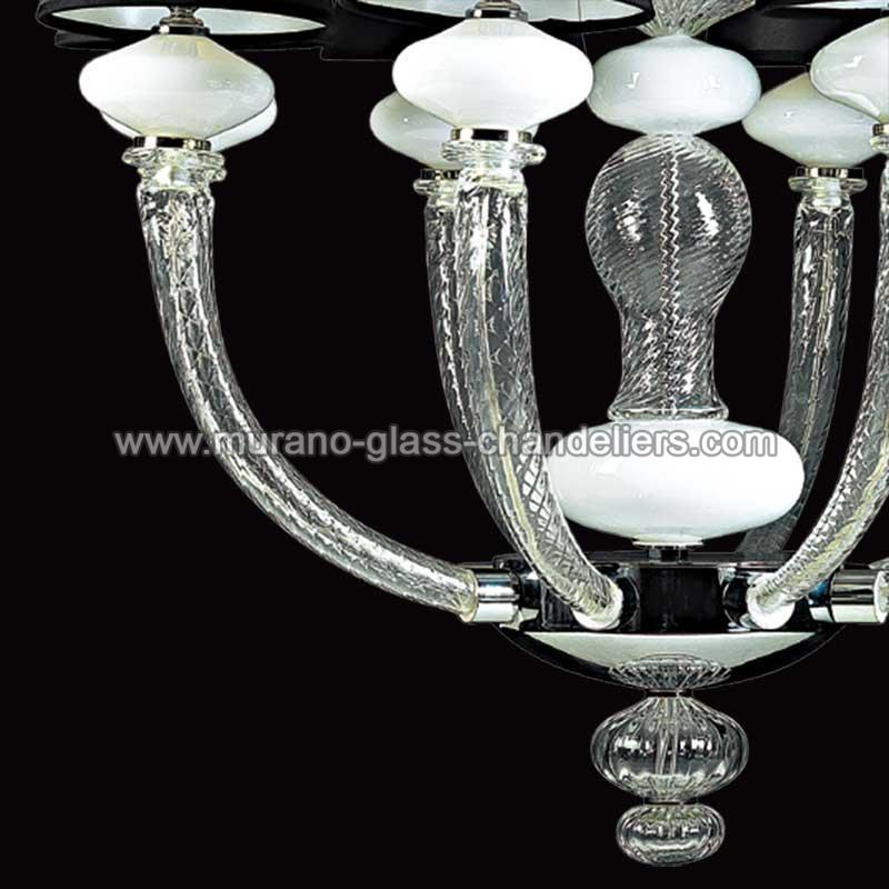 astora lustre en cristal de murano murano glass chandeliers. Black Bedroom Furniture Sets. Home Design Ideas