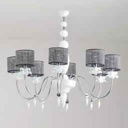 """Rachele"" Murano glass chandelier"
