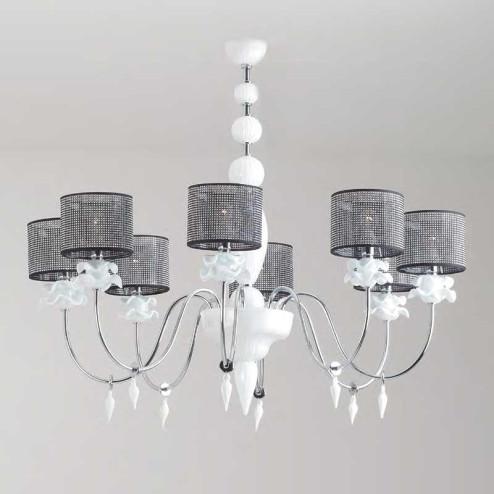"""Rachele"" Murano glass chandelier"