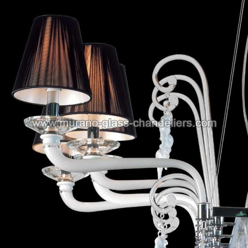 giuseppina lustre en cristal de murano murano glass chandeliers. Black Bedroom Furniture Sets. Home Design Ideas