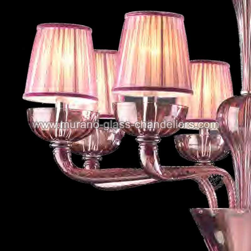 naomi lustre en cristal de murano murano glass chandeliers. Black Bedroom Furniture Sets. Home Design Ideas